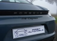 2017 PORSCHE CAYMAN 718 2L0 300CV BV6