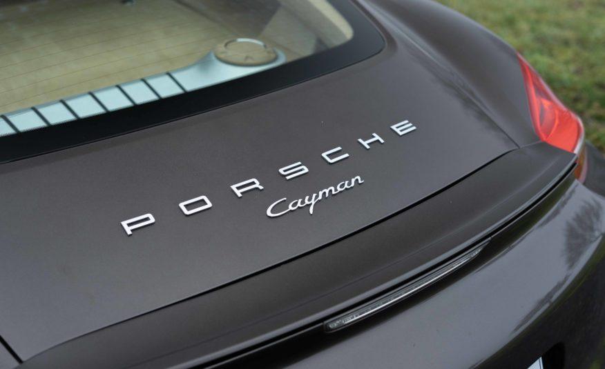 2015 PORSCHE CAYMAN 981 PDK 2L7 275CV