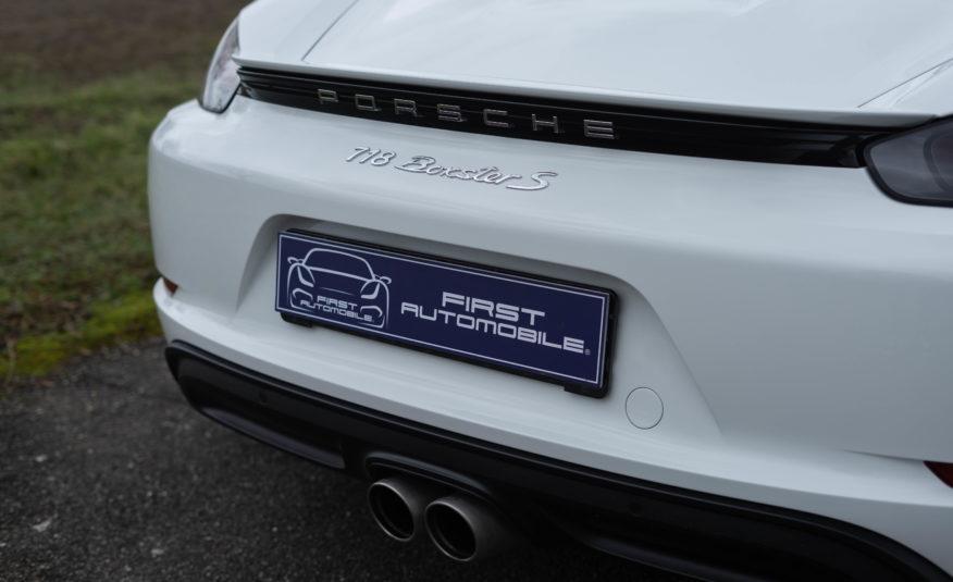 2017 PORSCHE 718 BOXSTER S PDK 2L5 350CV