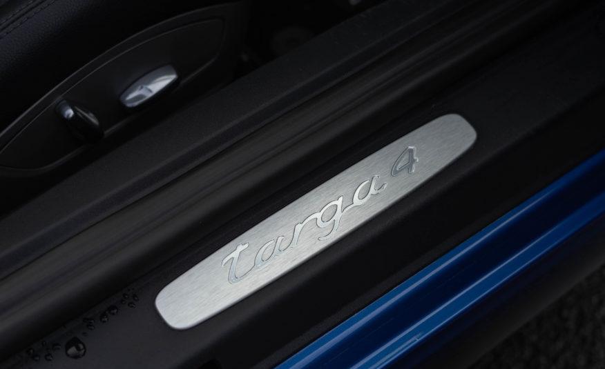 2016 PORSCHE 991 TARGA 4 PDK 3L4 350CV