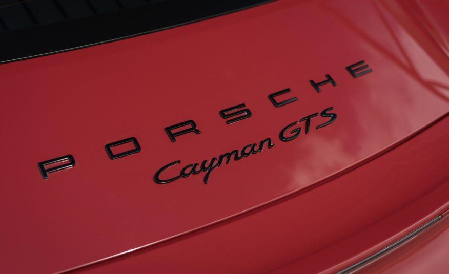 2016 PORSCHE CAYMAN 981 GTS 3L4 PDK 340CV PSE