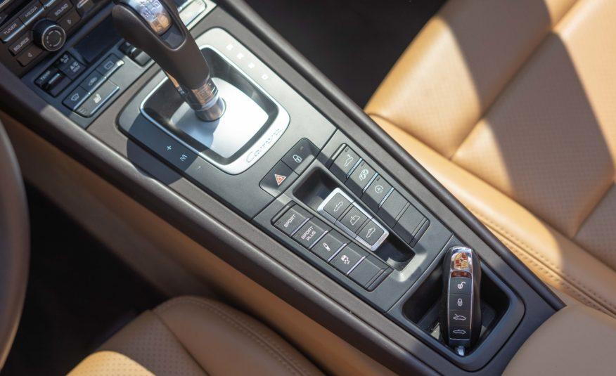 2014 PORSCHE 991 CARRERA 4S CABRIOLET 3L8 400CV PDK